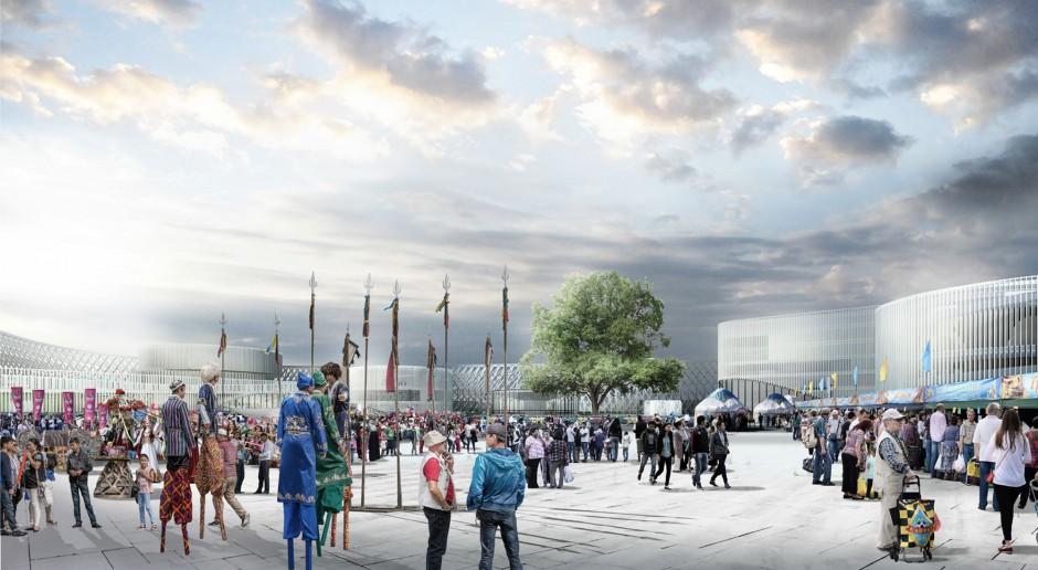 Oto koncepcja polskich architektów na nowy symbol Kazachstanu