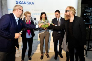 Nowe Centrum Łodzi wydało na świat swój pierworodny biurowiec