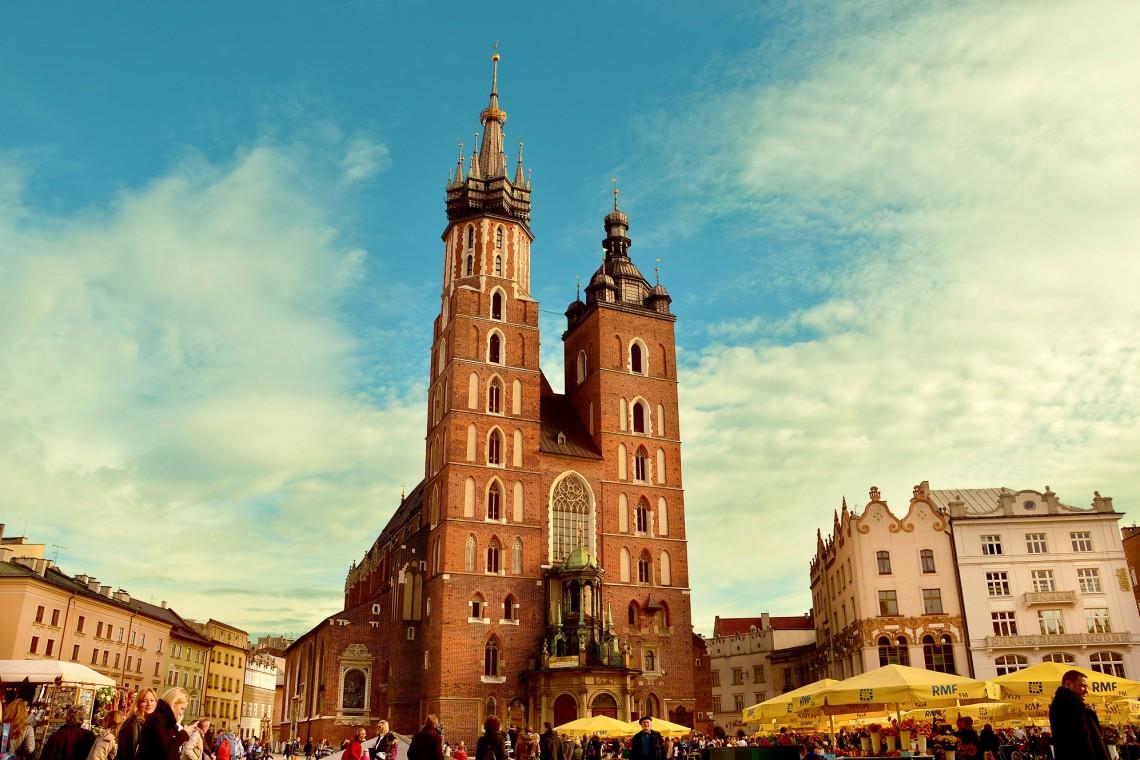Lodowisko na pl. Wolnica to jedna ze świątecznych atrakcji Krakowa