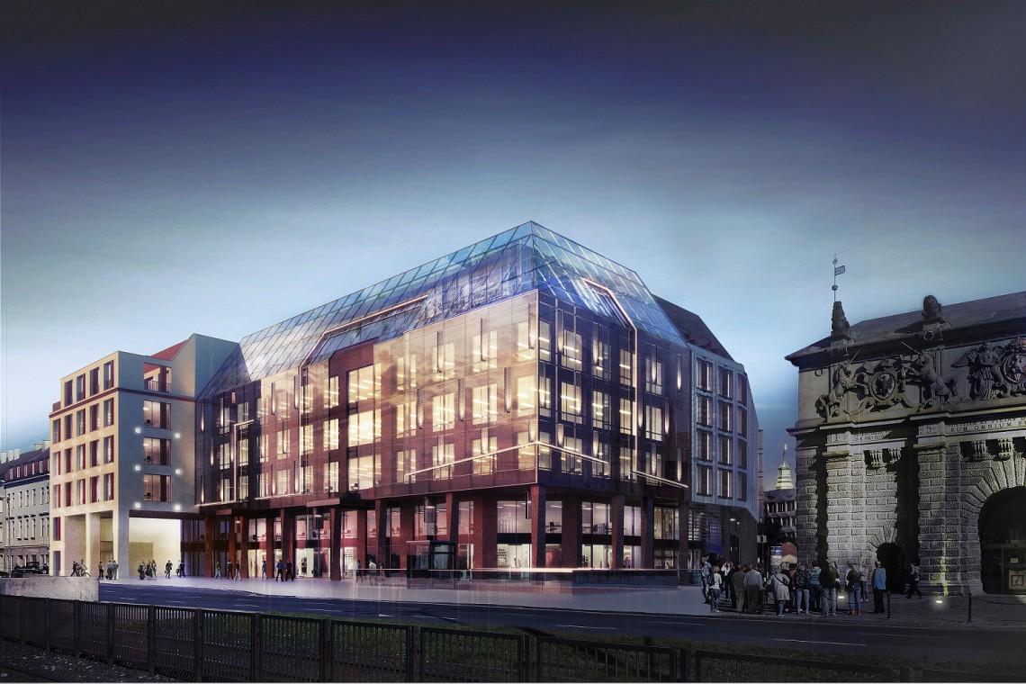 Oto budynek, który zastąpi lukę po siedzibie LOT-u