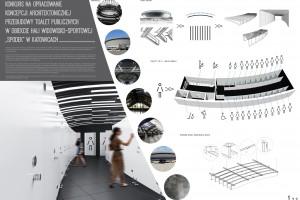 Konkurs na projekt toalet w Spodku rozstrzygnięty