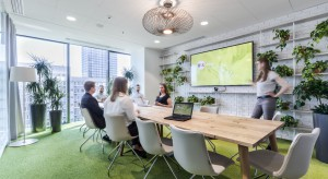 Biuro OLX zachwyca designem. Czy zdobędzie Property Design Awards?