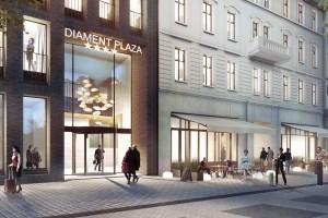 Tak będzie wyglądać Diament Plaza spod kreski Konior Studio