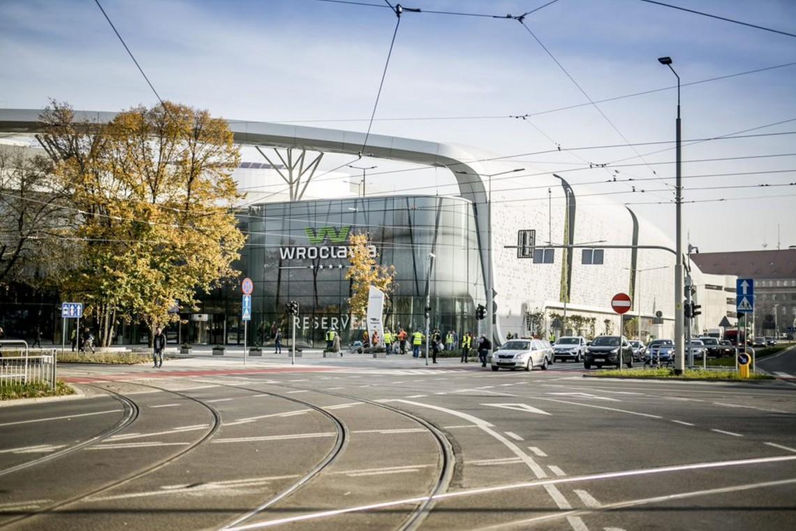 Wroclavia Otwarta Nowe Centrum Handlowe Wroc Awia Spod