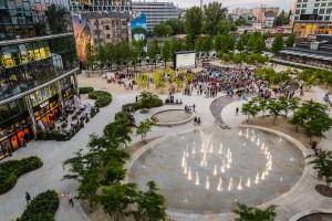 Plac Europejski wyrósł na tętniące życiem centrum lokalne
