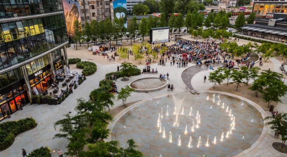 Plac Europejski znów otwiera się na mieszkańców