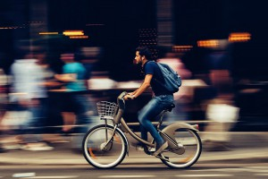 Łódź drogami rowerowymi stoi