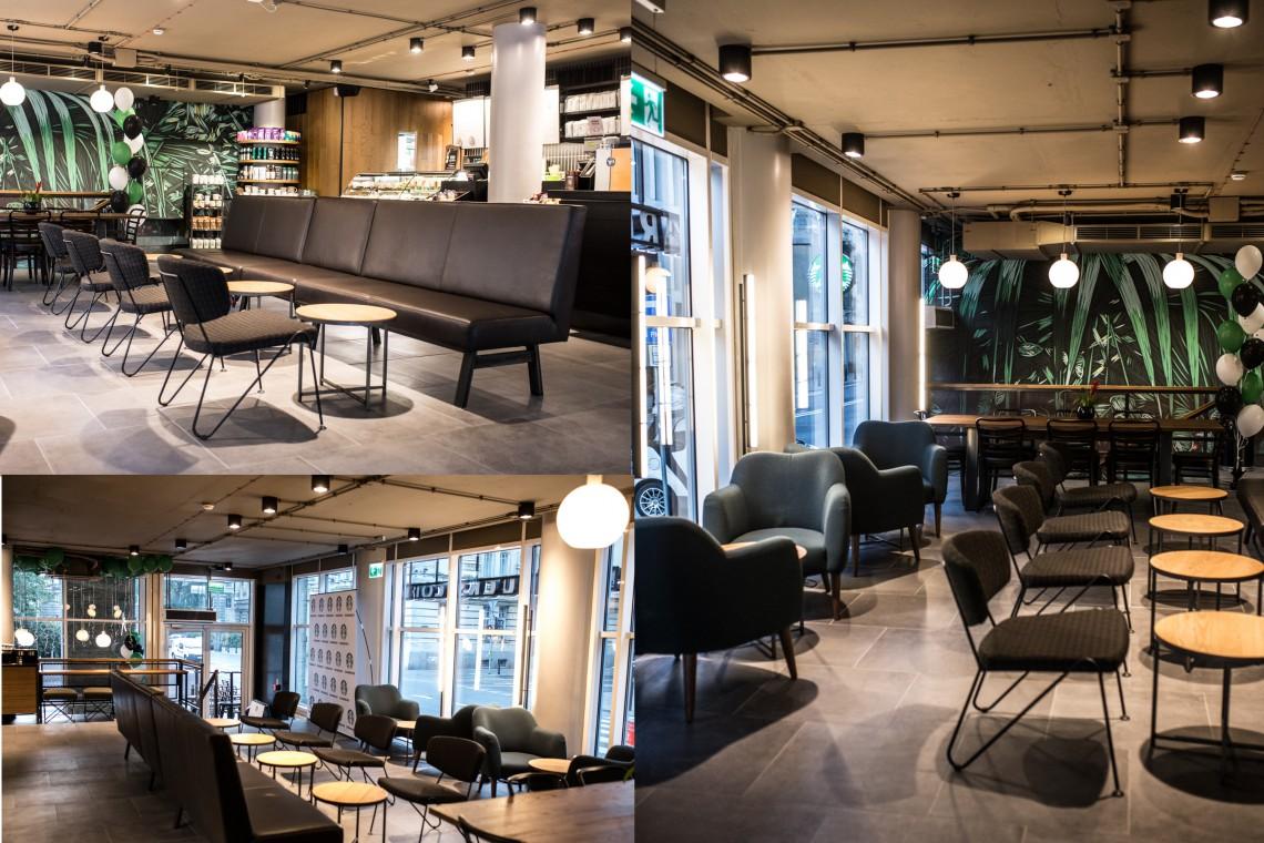 Najnowsza kawiarnia Starbucks w Warszawie. Zaglądamy do środka