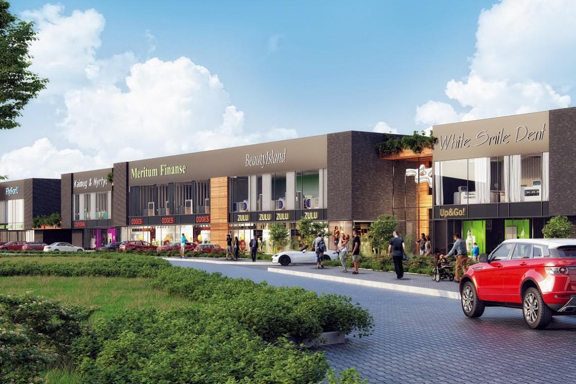 Centrum Modlińska - sąsiad Galerii Północnej typu convenient