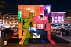 Hotel jak klocki. Futurystyczny projekt MVRDV