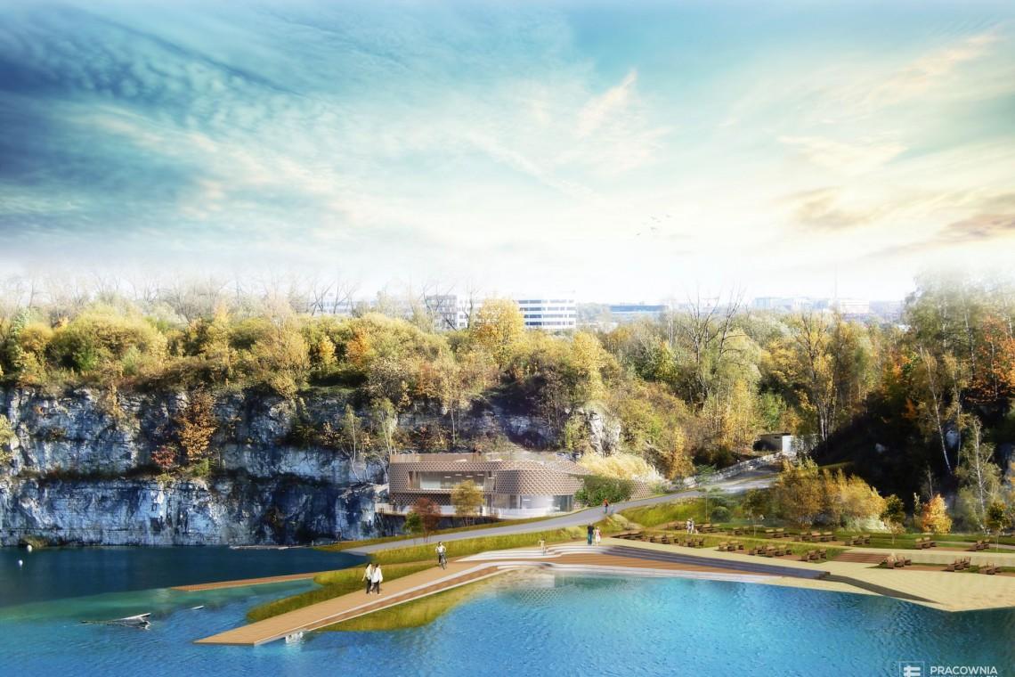 Tak będzie wyglądał Park Zakrzówek w Krakowie. Projekt zachwyca!