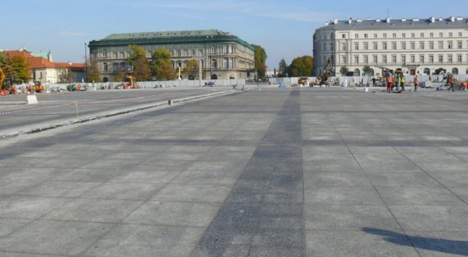 Walka o plac Piłsudskiego w Warszawie