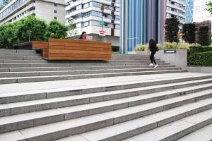 Meble miejskie Pawła Grobelnego dla La Defense z prestiżową nagrodą we Francji
