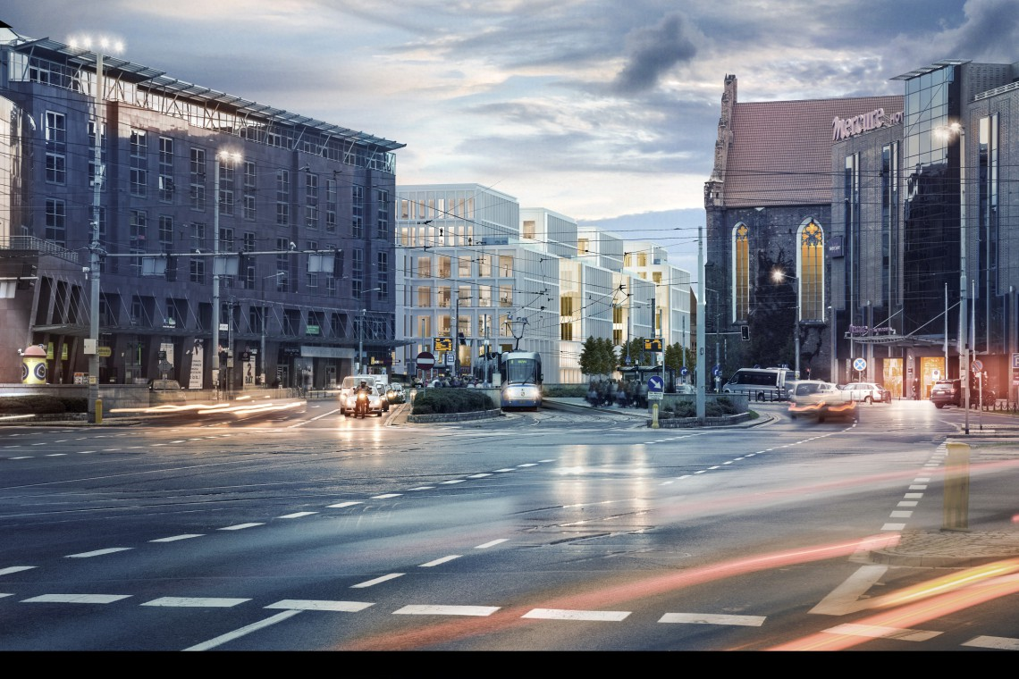 Skanska pokazała najnowsze wizualizacje inwestycji we Wrocławiu