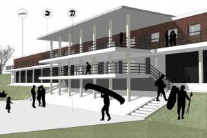 Wytwórnia Pracownia Projektowa szkicuje wrocławską Marinę