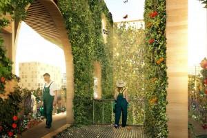 Kiedyś dworzec, dziś miejska farma. Paryskie dzieło DGT Architects wzmaga apetyt