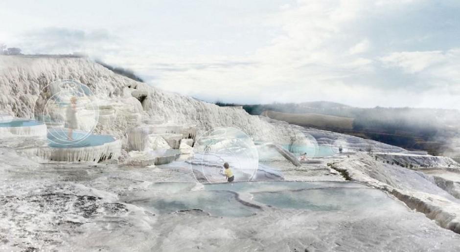 Projekt obserwatorium krajobrazowego w Pamukkale szkicu studentów z Gliwic doceniony
