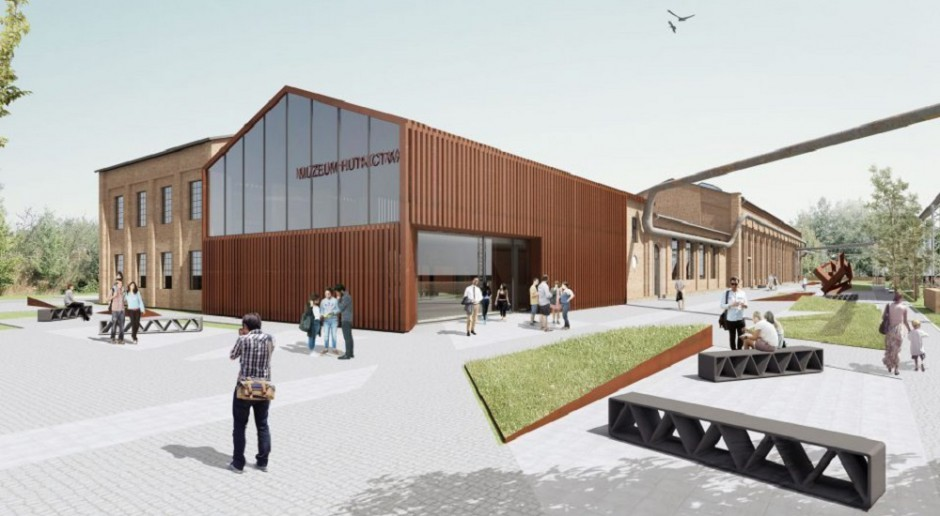 Oto przyszły wygląd Muzeum Hutnictwa w Chorzowie