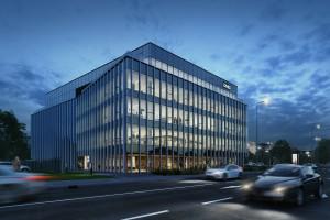 Pierwszy projekt Ghelamco w Krakowie. To biurowiec .big spod kreski Q-arch