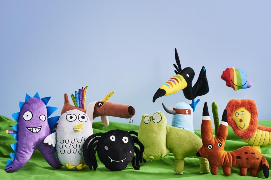 Zabawka zaprojektowana przez 9-letniego Huberta z Polski w nowej kolekcji IKEA