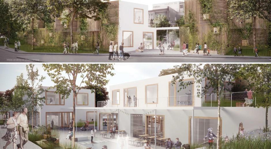 Oto projekt centrum sąsiedzkiego Gdyni. Twórcami Dynamo Produce, Hago Architekci i PB Studio