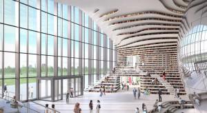 Trzy lata. Tyle potrzebowało MVRDV, aby stworzyć blibliotekę dla 1,2 miliona książek