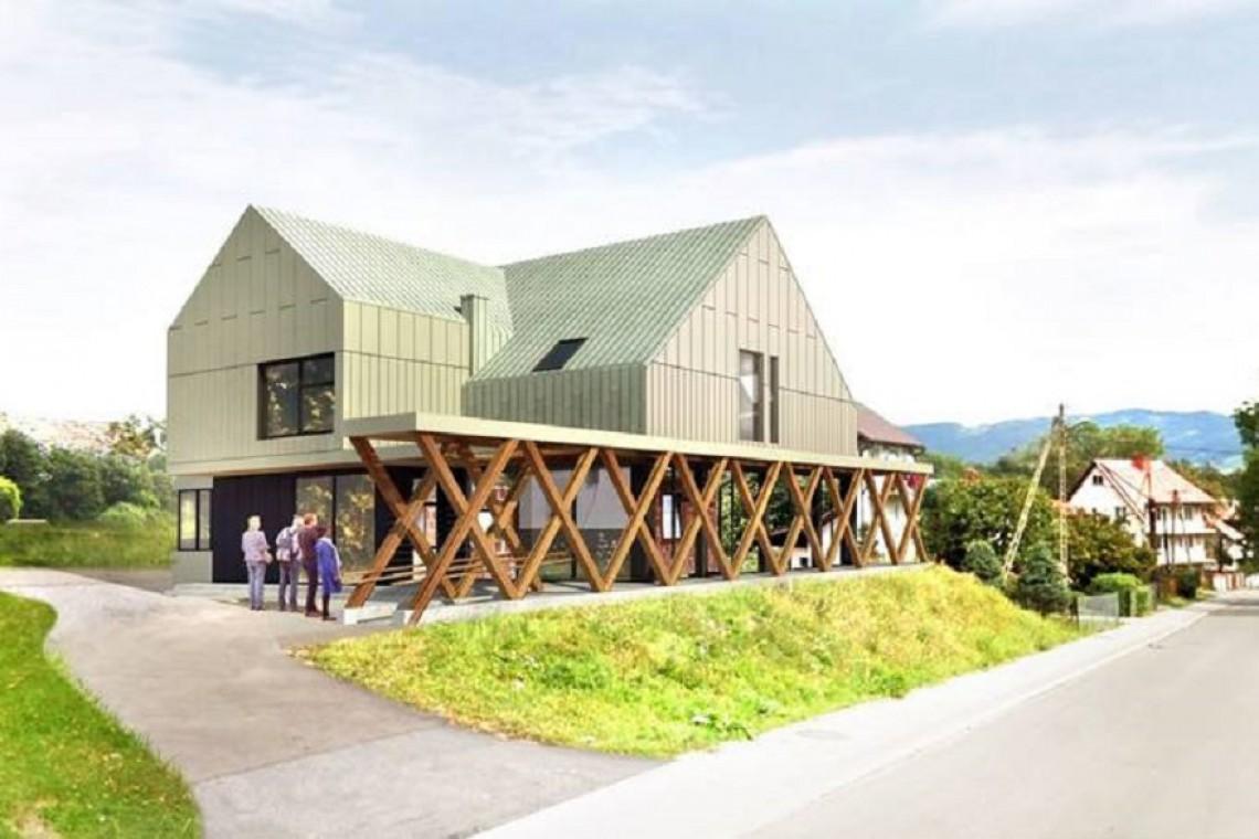 Centrum kultury w Przysietnicy zaskoczy miksem tradycji i nowoczesności