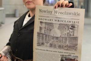 Historia Browarów Wrocławskich na łamach Nowin, czyli wydawnicza podróż w czasie