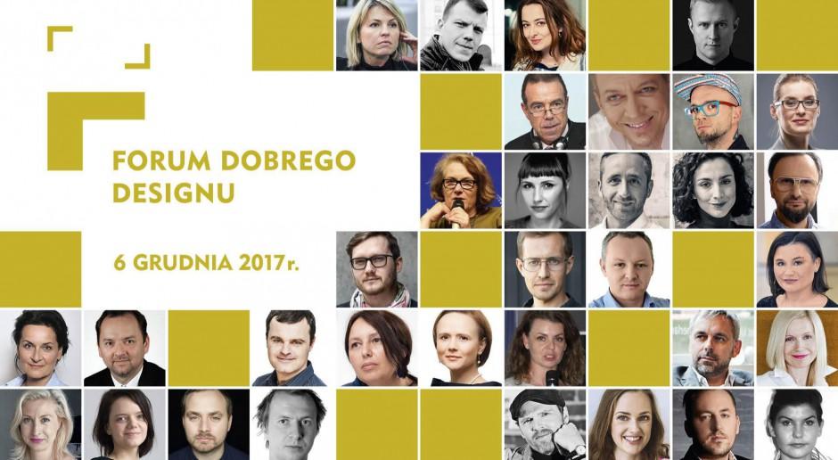 Forum Dobrego Designu 2017: oni będą z nami