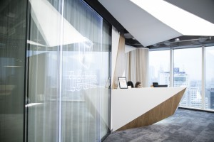 Nowe biuro Tétris to wizualizacja dynamizmu i perfekcji. Zaglądamy do środka