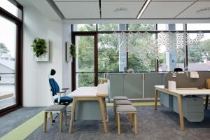 Im jesteśmy bardziej zadowoleni z biura, tym mamy lepsze pomysły