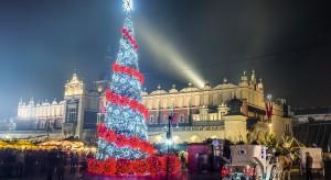 Krakowski rynek rozbłyśnie czterdziestoma tysiącami światełek