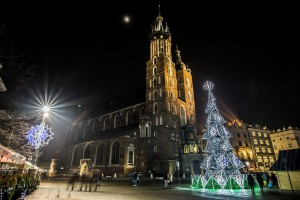 Kraków stroi się na święta w stylu... vintage