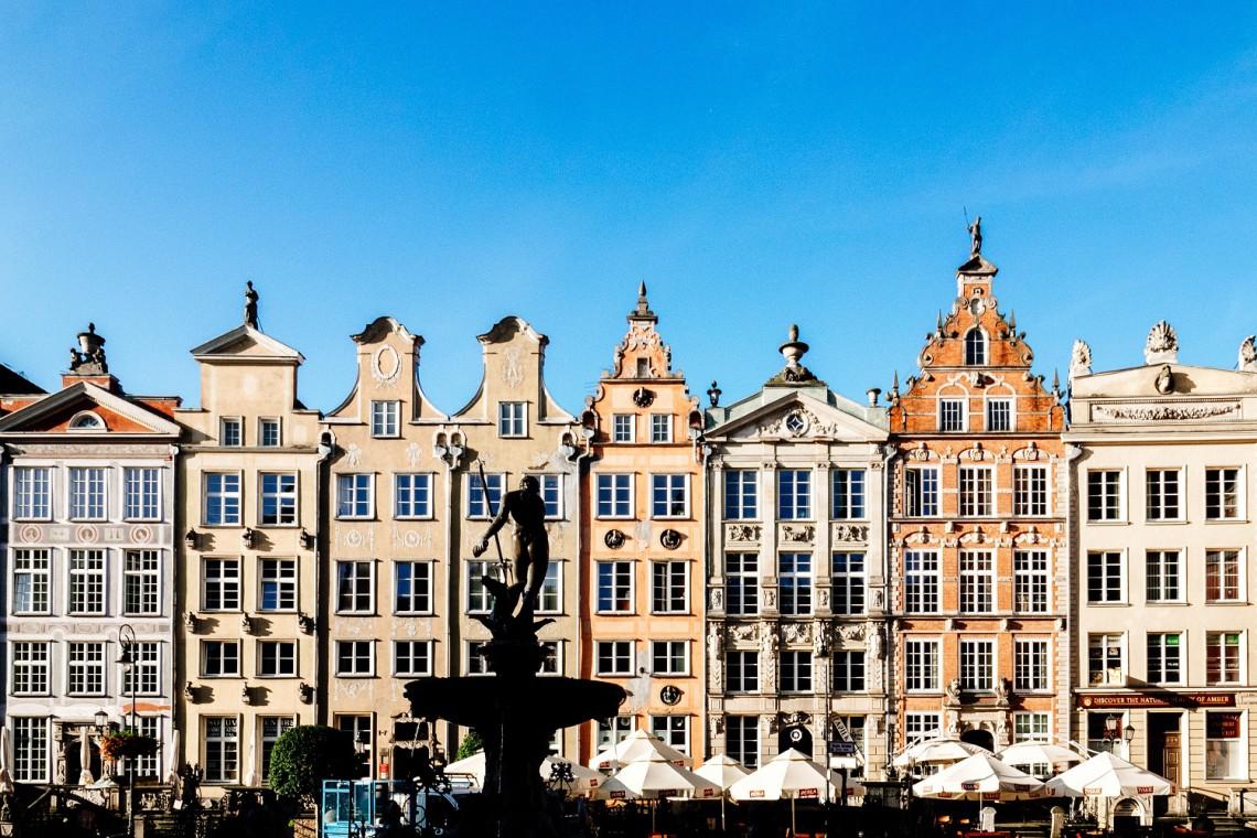 Ponad setka kamienic na Głównym Mieście w Gdańsku z odnowionymi elewacjami