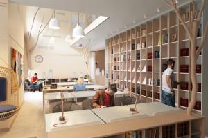 Biblioteka we Władysławowie będzie wygodna, kojąca, wręcz terapeutyczna