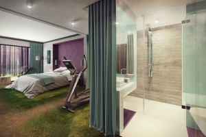W trosce o... beton. Hotel Gwiazda Morza szkicu pracowni Iliard rośnie w siłę
