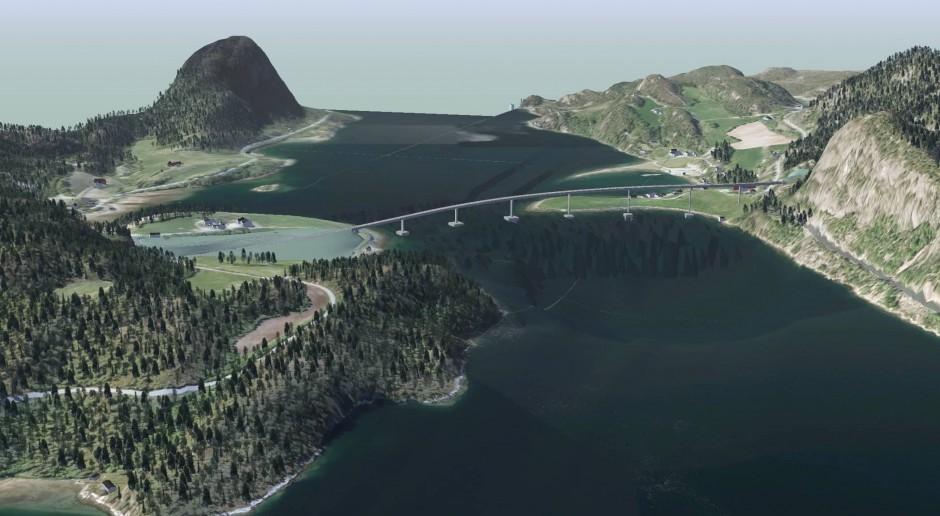 Niezwykły most powstaje w Norwegii
