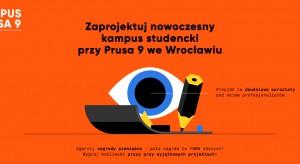 """Zaprojektuj """"Kampus Prusa 9"""" we Wrocławiu!"""