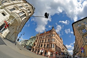 Łódzka zabytkowa stróżówka przy soborze Aleksandra Newskiego odnowiona