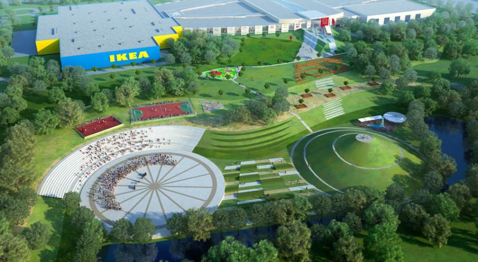 Niezwykły projekt IKEA Centres w Zabrzu nabiera rozpędu