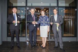 Courtyard by Marriott to pierwszy hotel modułowy w Edynburgu. Wielkie otwarcie za nami