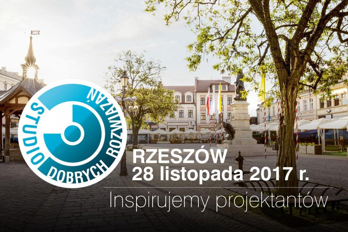 Studio Dobrych Rozwiązań zaprasza do Rzeszowa. Gościem specjalnym Maciej Łobos z MWM Architekci