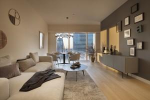 Tak wygląda apartament Joanny Krupy na Złotej 44