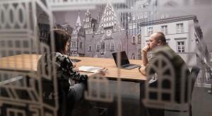 Oto pierwsze biuro we Wroclavii. Siedziba PGS Software niczym pociąg pełen wrażeń