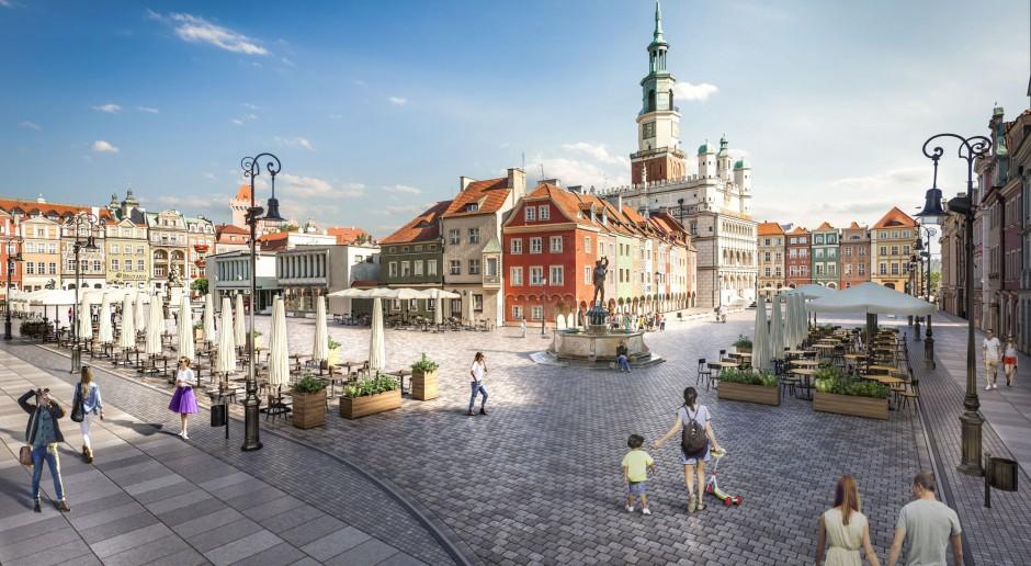 Tak ma wyglądać poznański Stary Rynek po przebudowie