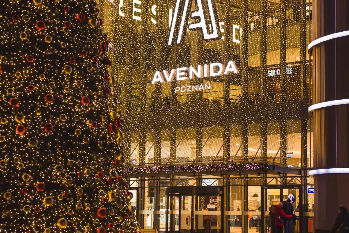 Centrum handlowe Avenida stroi się na święta i szykuje... moc atrakcji