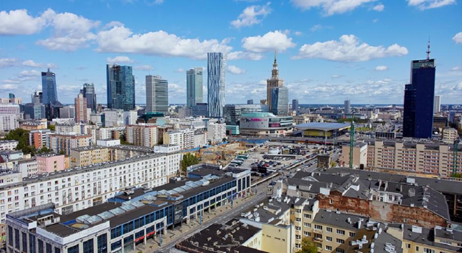 Tak zmienia się skyline Warszawy
