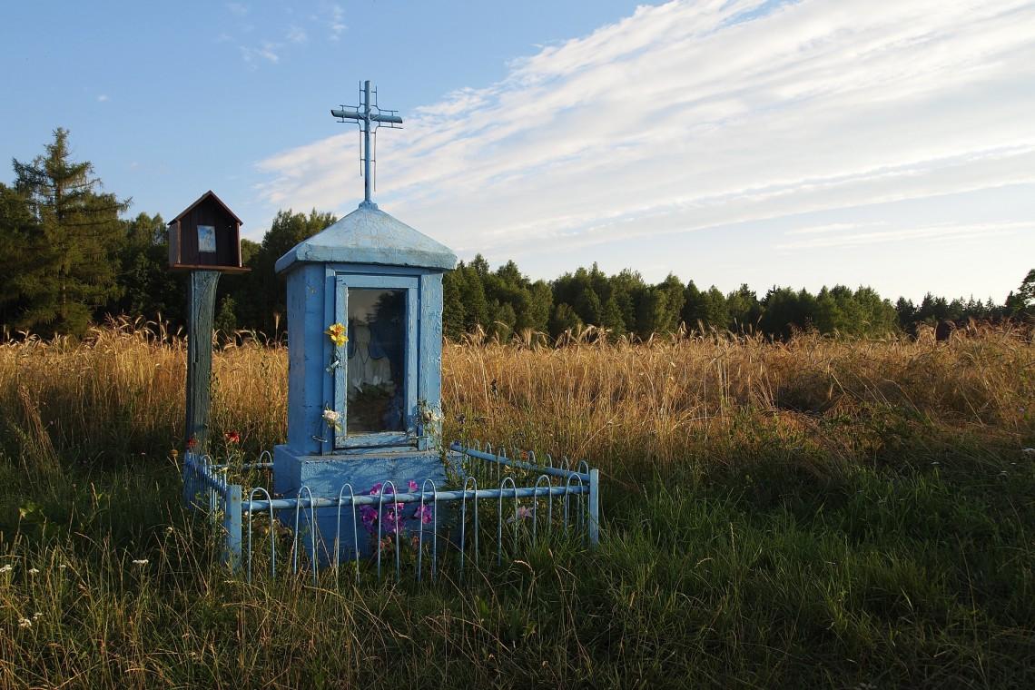 Odbudowana kapliczka wróci na swoje miejsce w Podkarpackiem