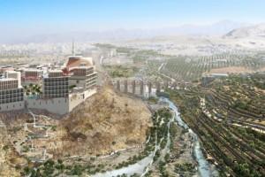 Zrównoważone miasto na środku pustyni. Oto niesamowity projekt pracowni Allies and Morrison