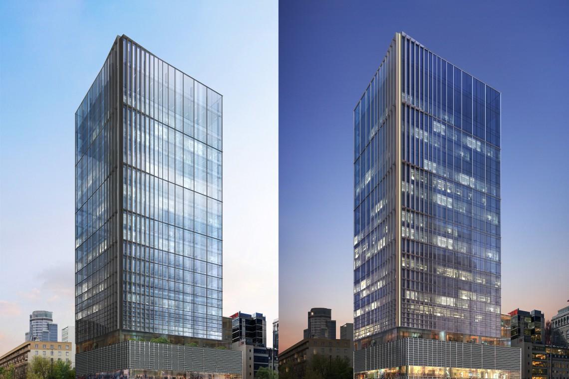 Inwestor zapowiada architekturę na światowym poziomie. Oto biurowiec Central Point